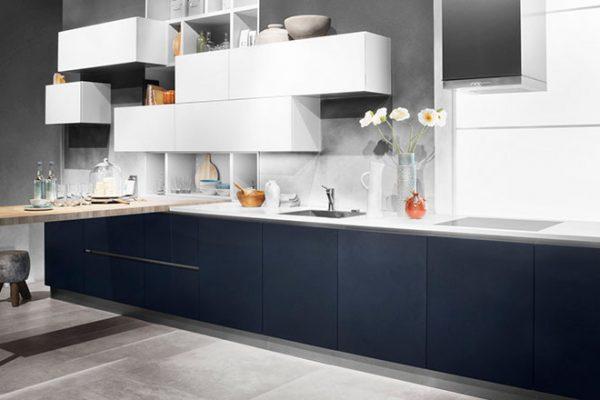 Häcker Küche Samtblau Hochglanz | Miele Center Höpperger Innsbruck