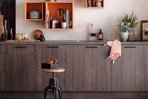 Häcker Küche Toronto | Eiche mit schöner Maserung | Miele Center Höpperger Innsbruck