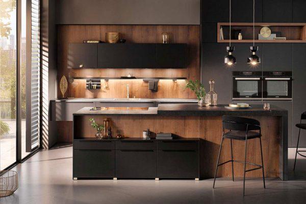 Küchentrends 2020 Häcker Mattlack im Miele Center Höpperger