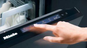 Miele Geschirrspüler mit Touch-Funktion