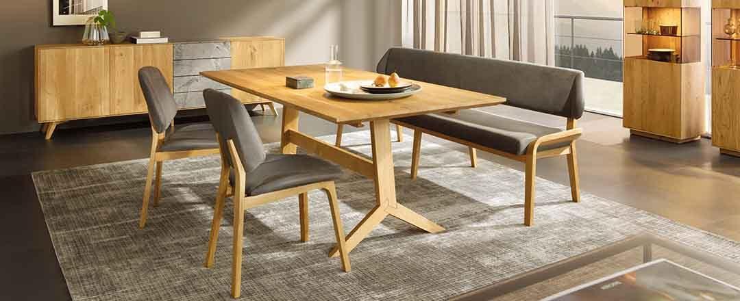 Anrei Fino Möbel | Tische Sessel Esszimmer | Miele Center Höpperger Küchen Innsbruck | Küchen Tirol