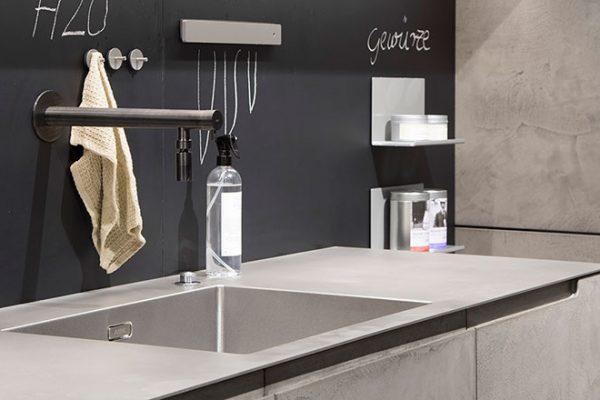 Warendorf Küche Concrete Spüle